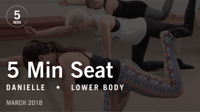 Instant Access to 5 Min Burn with Danielle: Seat  |  March 2018 by Pure Barre On Demand, powered by Intelivideo