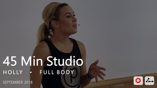 Instant Access to 45 Min Studio with Holly  |  September by Pure Barre On Demand, powered by Intelivideo