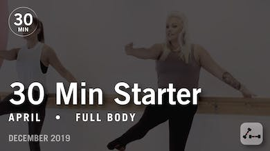 30 Min Starter with April | Full Body by Pure Barre On Demand