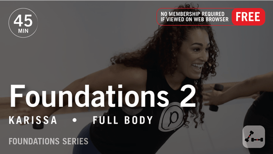 Instant Access to Foundations 2 with Karissa by Pure Barre On Demand, powered by Intelivideo