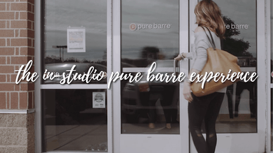 The In-Studio Pure Barre Experience by Pure Barre On Demand