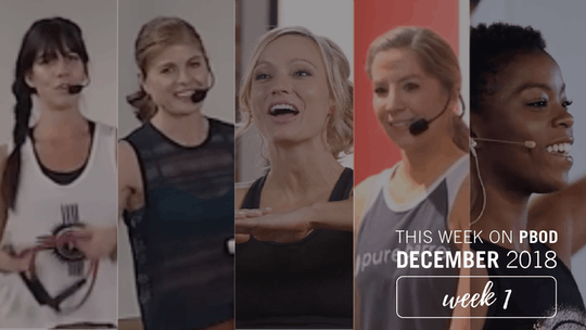 December  |  Week 1 by Pure Barre On Demand