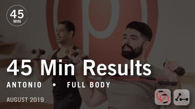 45 Min Results with Antonio: Full Body | August 2019 by Pure Barre On Demand