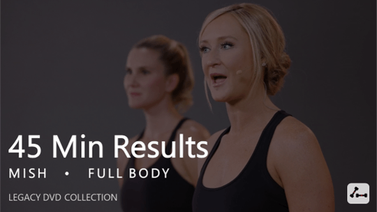 Instant Access to 45 Min Results with Mish by Pure Barre On Demand, powered by Intelivideo