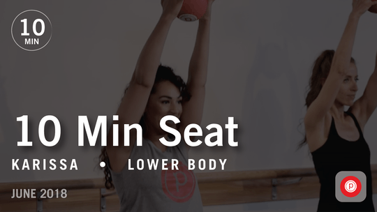 Instant Access to Tone in 10 with Karissa: Seat  |  June 2018 by Pure Barre On Demand, powered by Intelivideo