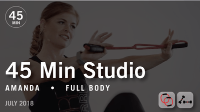 45 Min Studio with Amanda: Full Body  |  July 2018 by Pure Barre On Demand