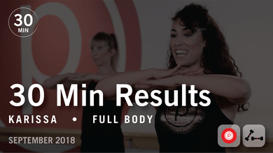 30 Min Results with Karissa: Full Body  |  September 2018 by Pure Barre On Demand
