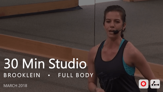 Instant Access to 30 Min Studio with Brookelin  |  March by Pure Barre On Demand, powered by Intelivideo