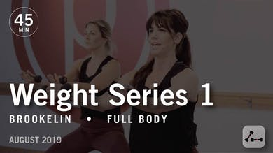 Weight Series 1 with Brookelin | August 2019 by Pure Barre On Demand