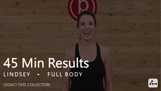 Instant Access to 45 Min Results with Lindsey by Pure Barre On Demand, powered by Intelivideo