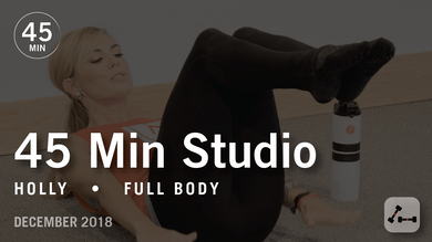 45 Min Studio with Holly: Full Body  |  December 2018 by Pure Barre On Demand