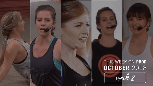 October  |  Week 2 by Pure Barre On Demand