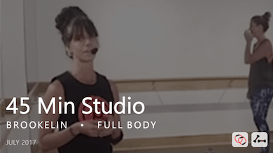 45 Min Studio with Brookelin  |  July by Pure Barre On Demand