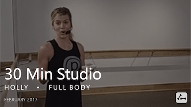 30 Min Studio with Holly  |  February by Pure Barre On Demand