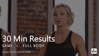 30 Min Results with Sami #1 by Pure Barre On Demand