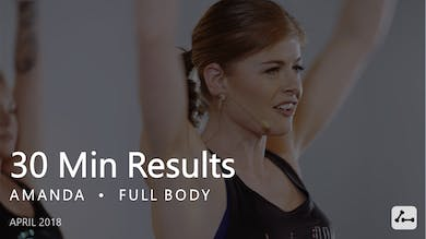 30 Min Results with Amanda  |  April by Pure Barre On Demand
