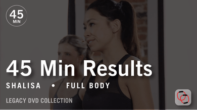45 Min Results with Shalisa: Full Body  |  Legacy DVD Collection by Pure Barre On Demand