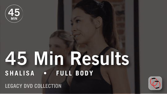 Instant Access to 45 Min Results with Shalisa: Full Body  |  Legacy DVD Collection by Pure Barre On Demand, powered by Intelivideo