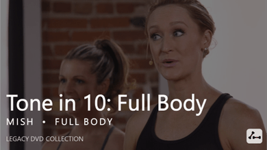 Tone in 10: Full Body by Pure Barre On Demand