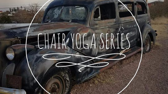 K10Yoga Stream: Chair Yoga Series by K10Yoga, powered by Intelivideo