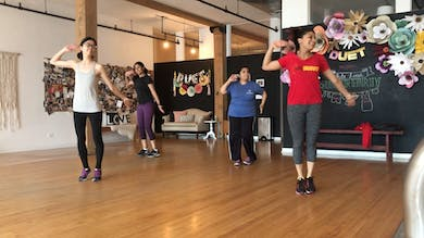 bG choreo class June 9th- 'Oonchi hai building' song.MOV by Bollywood Groove