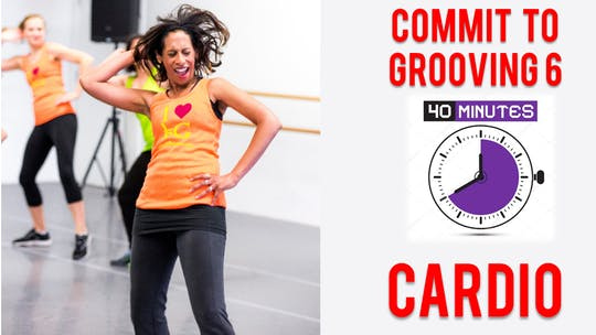 Commit to Grooving - Workout 6 - 40 Mins - Cardio by Bollywood Groove