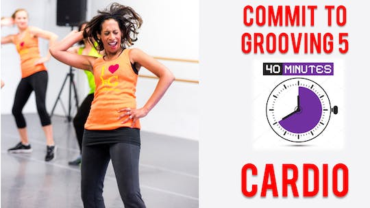 Commit to Grooving - Workout 5 - 40 Mins - Cardio by Bollywood Groove