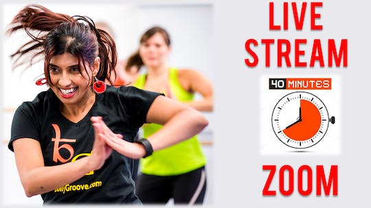 Zoom Live streams - 45 mins by Bollywood Groove
