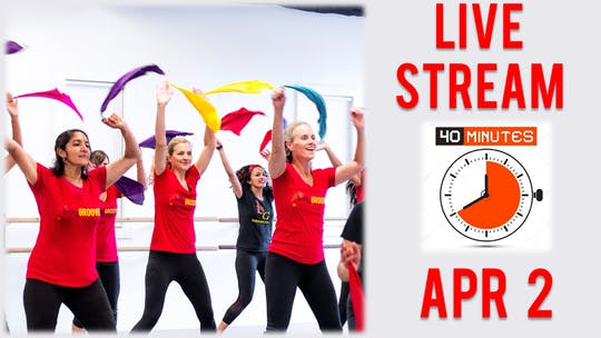 Apr 2, Live Cardio by Bollywood Groove
