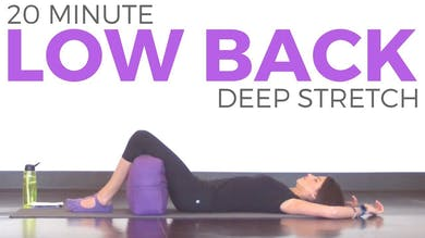 20 minute Deep Stretch Yoga for Low Back by Sarah Beth Yoga