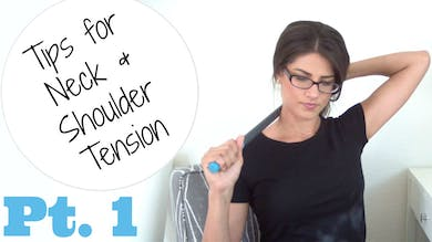 Neck & Shoulder Tension Relief Tips - Pt 1 by Sarah Beth Yoga