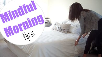Tips for Mindful Mornings by Sarah Beth Yoga