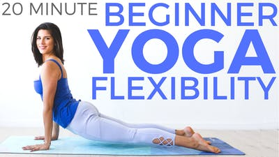 Instant Access to Yoga for Beginners (20 minute Yoga) Beginner Yoga for Flexibility by Sarah Beth Yoga, powered by Intelivideo