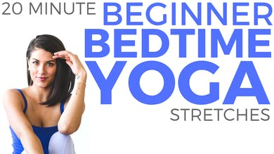 Yoga for Beginners (20 minute Yoga) Beginners Yoga for Bedtime by Sarah Beth Yoga