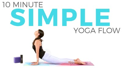 Instant Access to Simple Yoga Flow (10 minute Yoga) Yoga for All Levels by Sarah Beth Yoga, powered by Intelivideo