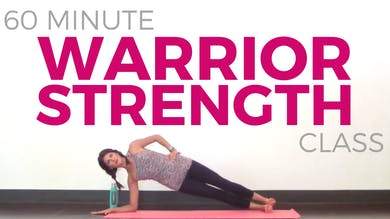 60 minute Warrior Strength - Power Yoga Class by Sarah Beth Yoga
