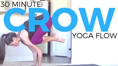Instant Access to Power Yoga Workout | Crow Flow by Sarah Beth Yoga, powered by Intelivideo