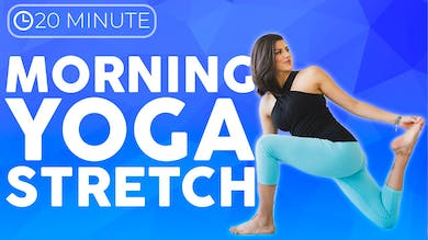 20 minute Morning Yoga Stretch Full Body Yoga | SUNRISE YOGA by Sarah Beth Yoga