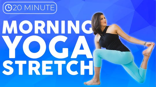 Instant Access to Morning Yoga Stretch Full Body Yoga (20 Minutes) SUNRISE YOGA by Sarah Beth Yoga, powered by Intelivideo