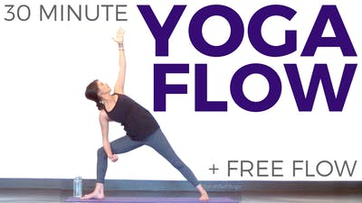 Instant Access to 30 minute Yoga Flow
