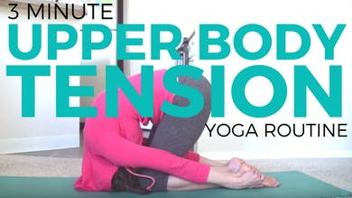Yoga for Upper Back Tension by Sarah Beth Yoga