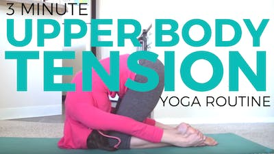 Instant Access to Yoga for Upper Back Tension by Sarah Beth Yoga, powered by Intelivideo