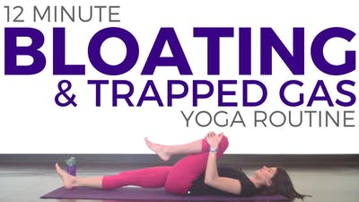 Instant Access to Yoga for Bloating, Ulcerative Colitis, IBD, Digestion by Sarah Beth Yoga, powered by Intelivideo
