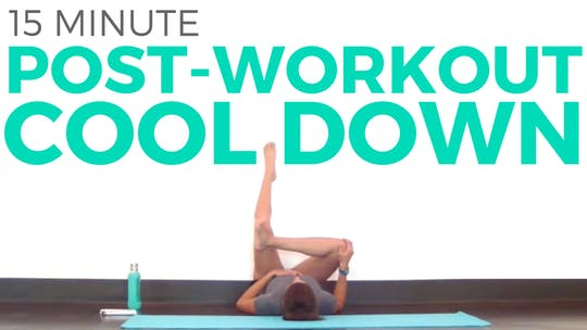 Instant Access to 15 minute Post Workout Cool Down by Sarah Beth Yoga, powered by Intelivideo