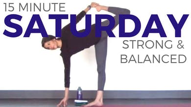 Saturday - Strong & Balanced Power Yoga Routine by Sarah Beth Yoga