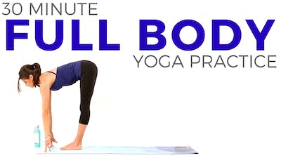 Instant Access to 30 minute Full Body Yoga Practice by Sarah Beth Yoga, powered by Intelivideo
