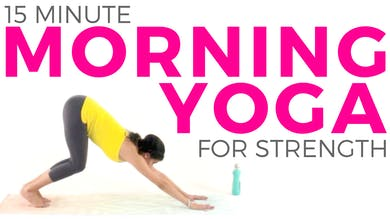 15 minute Morning Yoga Flow for Strength & Energy by Sarah Beth Yoga