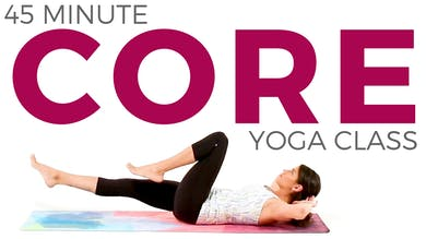45 minute Core Strength Yoga Class by Sarah Beth Yoga