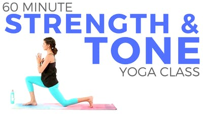 Instant Access to 60 minute Strength & Tone | Power Yoga Class by Sarah Beth Yoga, powered by Intelivideo