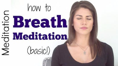 How to do Breath Meditation by Sarah Beth Yoga